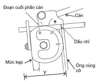 """Cách uốn ống khi không có dấu """"L"""""""