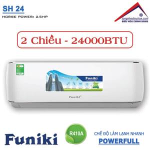 Điều hòa Funiki 2 chiều 24000btu SH 24