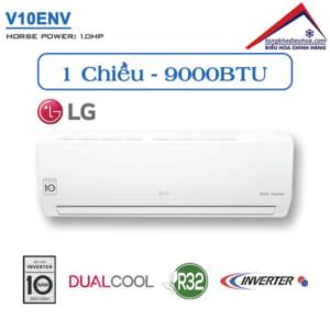Điều hòa LG 1 chiều 9000BTU inverter V10ENV