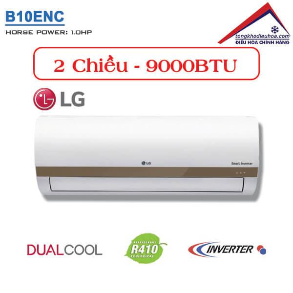 Điều hòa LG 2 chiều 9000BTU inverter B10ENC