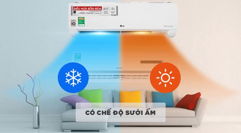 Điều hòa LG 2 chiều lạnh, sưởi