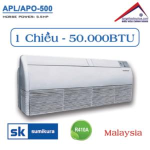 Điều hòa Sumikura áp trần 1 chiều 50.000BTU APL/APO-500