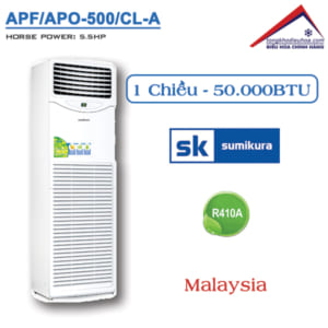 Điều hòa Sumikura tủ đứng 1 chiều 50000BTU APF/APO-500/CL-A