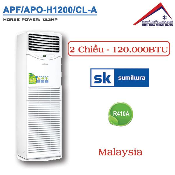 Điều hòa Sumikura tủ đứng 2 chiều 120000BTU APF/APO-H1200/CL-A