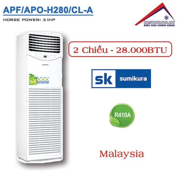 Điều hòa Sumikura tủ đứng 2 chiều 28000BTU APF/APO-H280/CL-A