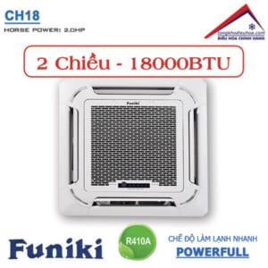 Điều hòa Funiki âm trần 2 chiều 18000btu CH18