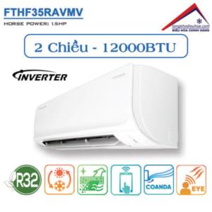 Điều hòa đaikin 2 chiều 12000btu inverter FTHF35RAVMV