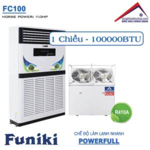 Điều hòa Funiki tủ đứng 1 chiều 100000btu FC100