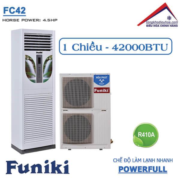 Điều hòa Funiki tủ đứng 1 chiều 42000btu FC42