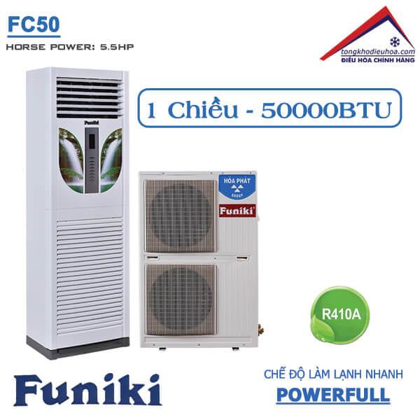 Điều hòa Funiki tủ đứng 1 chiều 50000btu FC50
