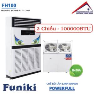 Điều hòa Funiki tủ đứng 2 chiều 100000btu FH100