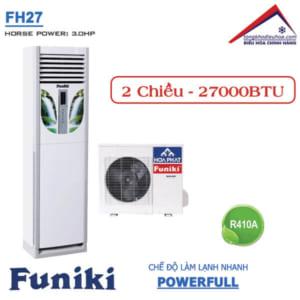 Điều hòa Funiki tủ đứng 2 chiều 27000btu FH27