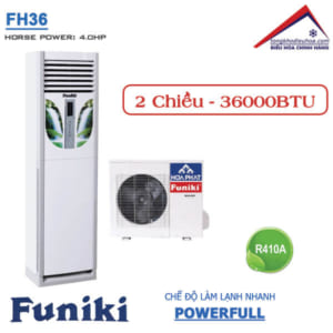 Điều hòa Funiki tủ đứng 2 chiều 36000btu FH36