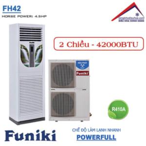 Điều hòa Funiki tủ đứng 2 chiều 42000btu FH42