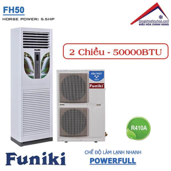 Điều hòa Funiki tủ đứng 2 chiều 50000btu FH50