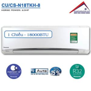 Điều hòa panasonic 1 chiều 18000btu CU/CS-N18TKH-8