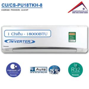 Điều hòa panasonic 1 chiều 18000btu inverter CU/CS-PU18TKH-8