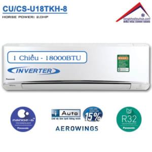 Điều hòa panasonic 1 chiều 18000btu inverter CU/CS-U18TKH-8