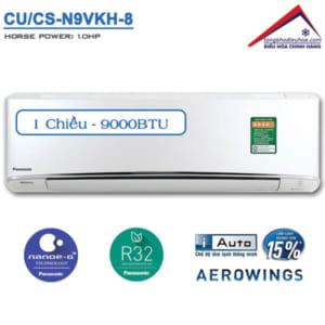 Điều hòa panasonic 1 chiều 9000btu CU/CS-N9VKH-8