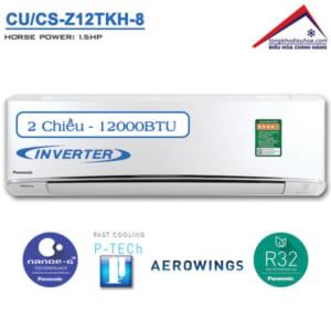 Điều hòa panasonic 2 chiều 12000btu inverter CU/CS-Z12TKH-8