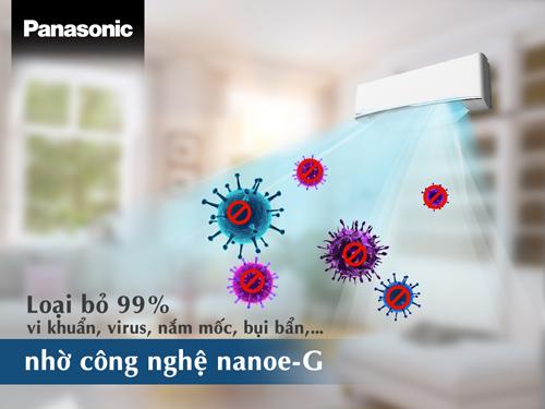 Công nghệ lọc khí Nanoe-G
