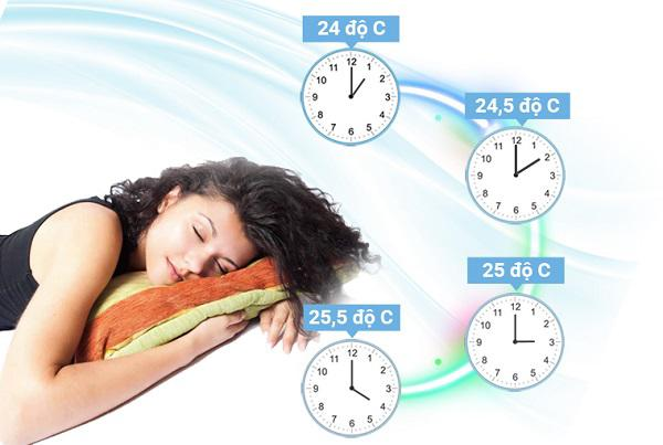 """Cách dùng điều hòa tiết kiệm điện hiệu quả qua chế độ """"Slepp"""""""