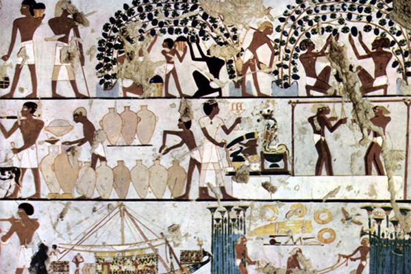 Mô hình làm mát sơ khai của người Ai Cập