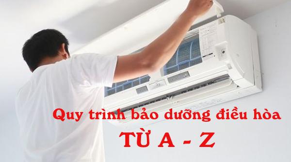 Quy trình bảo dưỡng điều hòa treo tường từ A - Z