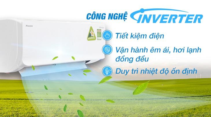 Công nghệ biến tần Inverter của điều hòa Daikin