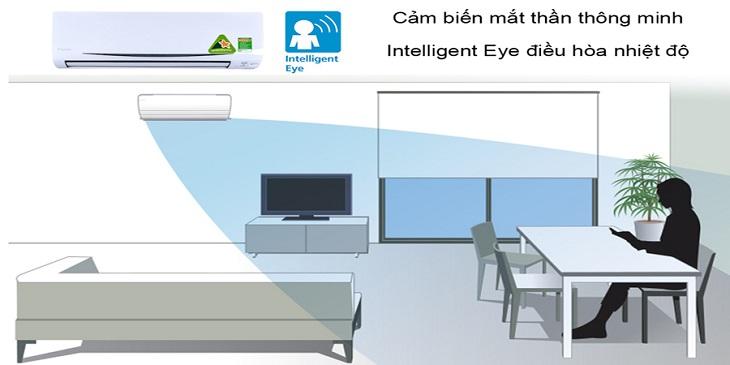 Công nghệ cảm biến mắt thần thông minh của điều hòa Daikin
