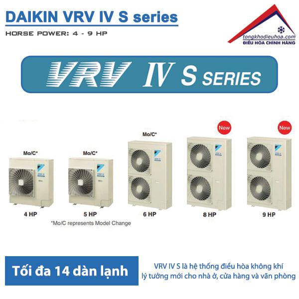 Điều hòa trung tâm daikin VRV IV S series