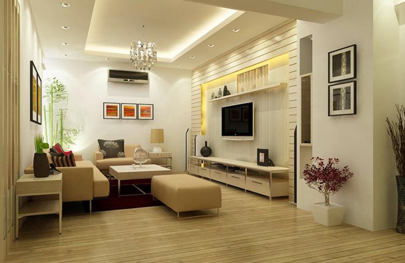 Kích cỡ và diện tích phòng khách