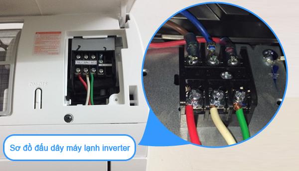 sơ đồ đấu dây máy lạnh inverter