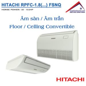Dàn lạnh Âm sàn / Âm trần (RPFC/FSNQ) | Điều hòa trung tâm Hitachi