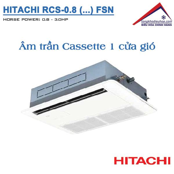 Dàn lạnh Âm trần Cassette FSN VRF Hitachi