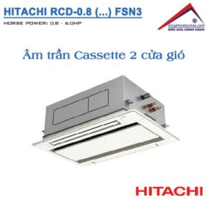 dàn lạnh Âm trần Cassette VRF Hitachi Model FSN3