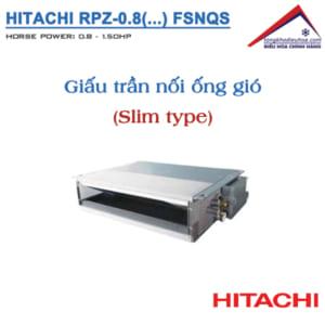 Dàn lạnh Giấu trần nối ống gió (FSNQS) | VRF Hitachi