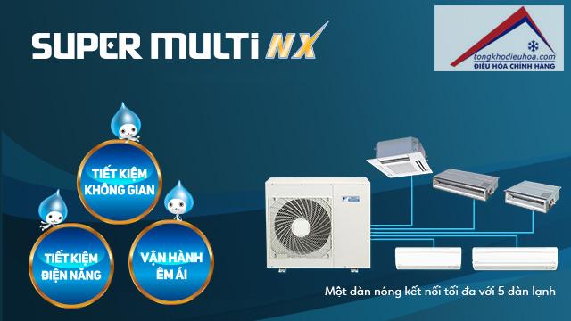 hệ thống điều hòa multi super nx
