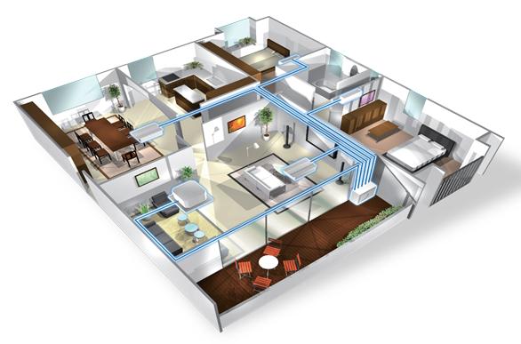 giải pháp điều hòa cho nhà