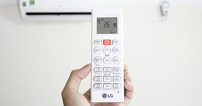 Hướng dẫn sử dụng điều khiển điều hòa LG