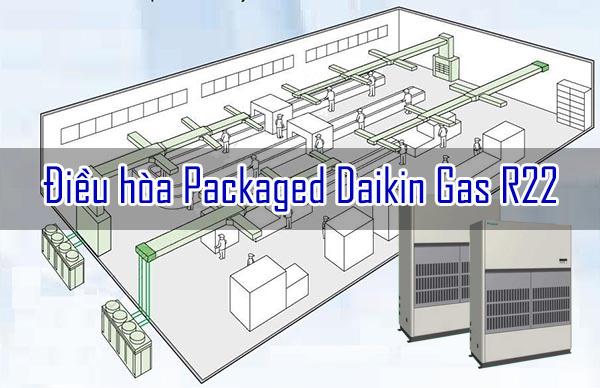 mô hình lắp điều điều hòa packaged daikin