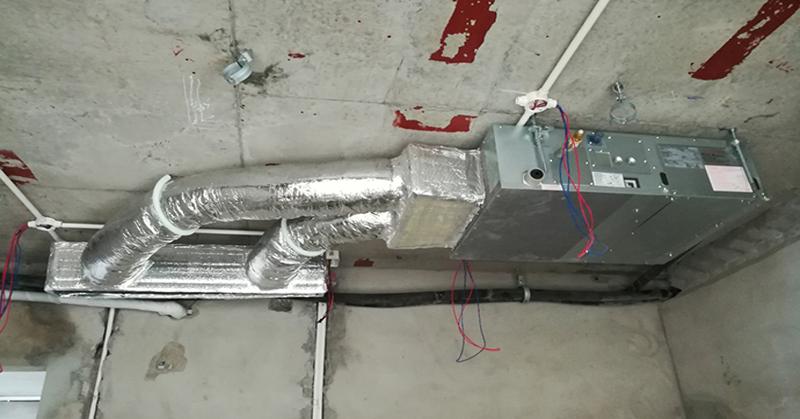 ống gas điều hòa nối ống gió daikin