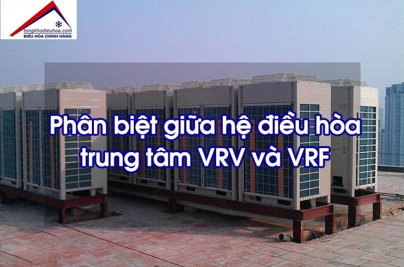 Điều hòa trung tâm VRF